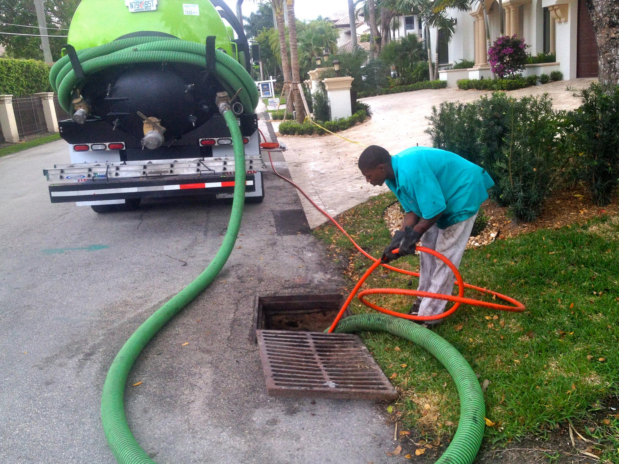South Florida Storm Drain Cleaning Parking Lot Drainage South Florida